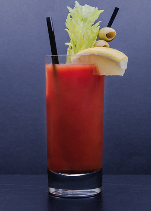 The Bloody Mary is one of the most popular vodka cocktails