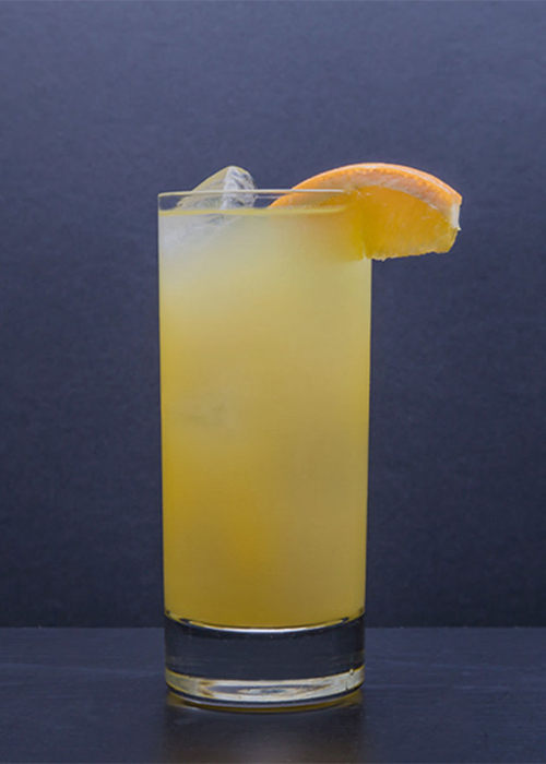 The Screwdriver is one of the most popular vodka cocktails