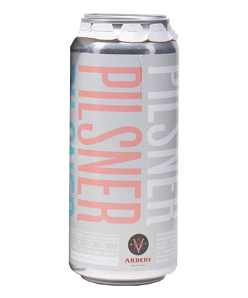 Ardent Craft Ales Pilsner is one of the best pilsners ranked by brewers.