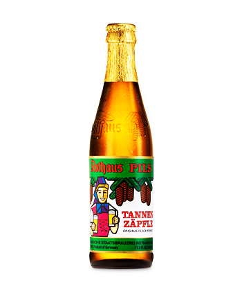 Rothaus Tannenzäpfle is one of the best pilsners ranked by brewers.