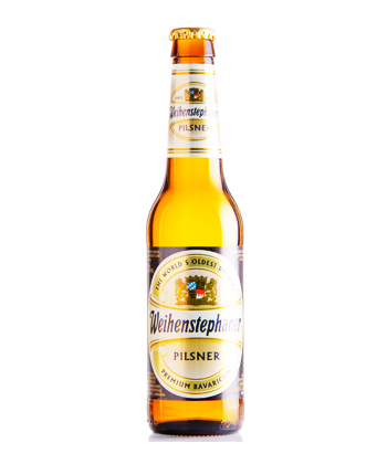 Weihenstephaner Pils is one of the best pilsners ranked by brewers.