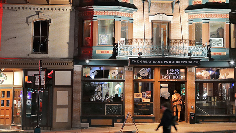 Madison, Wisconsin is one of the top drinks destinations.