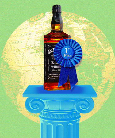 The Best Selling American Whiskey Brands in the World for 2021