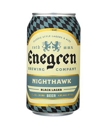 Enegren Brewing Co. Nighthawk is one of the best camping beers recommended by brewers.