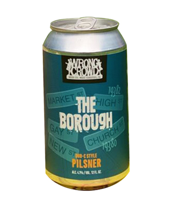 Wrong Crowd Beer The Borough is one of the best new beers for summer 2021