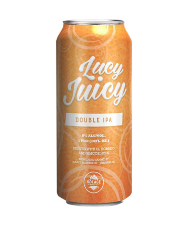 Solace Brewing Lucy Juicy Double IPA