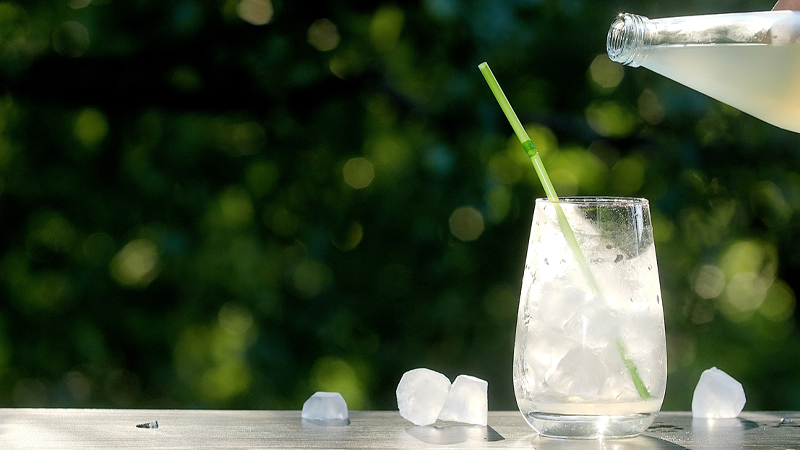 Pair your vodka tonic cocktail with any fresh ingredient or herb to create the ultimate relaxing summer drink.