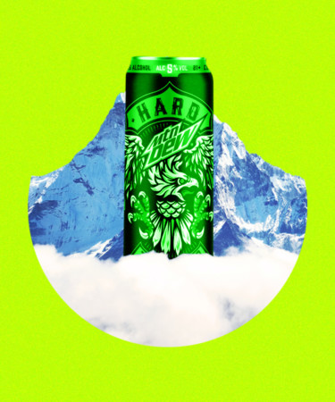 HARD MTN DEW: Boston Beer and PepsiCo Team Up For Boozy Mountain Dew Release