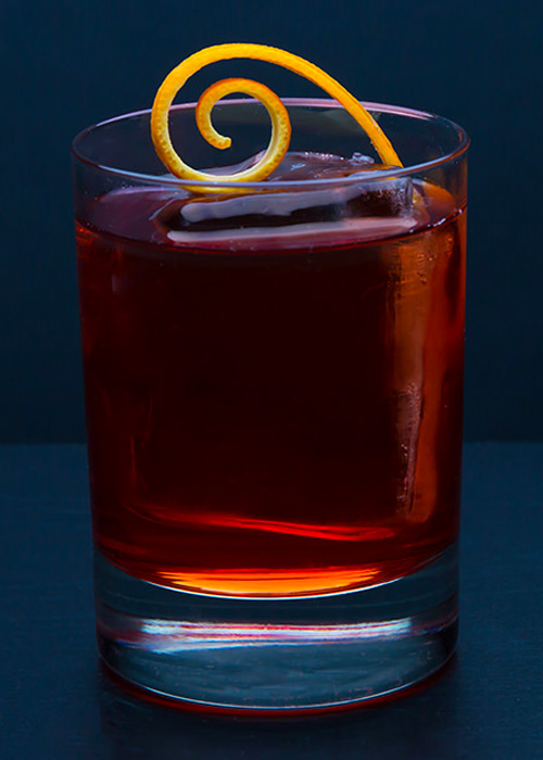 The Boulevardier is one of the most underrated whiskey cocktails