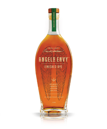 Angel's Envy Is one of the best Rye Whiskey Brands of 2021