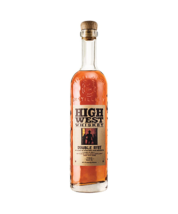 High West Is one of the best Rye Whiskey Brands of 2021