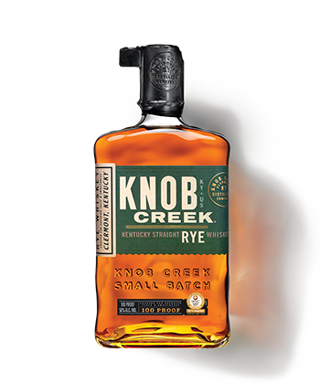 Knob Creek Is one of the best Rye Whiskey Brands of 2021