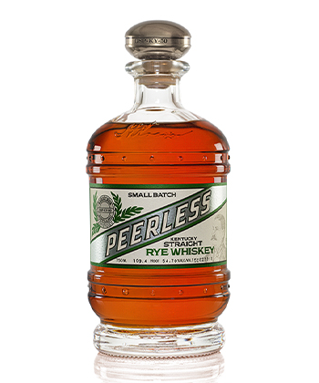 Peerless Distilling Co. Small Batch Is one of the best Rye Whiskey Brands of 2021