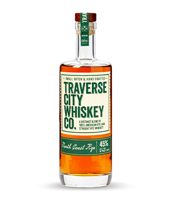 Traverse City Whiskey Co. North Coast Is one of the best Rye Whiskey Brands of 2021