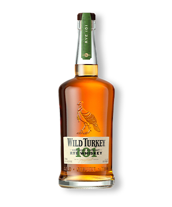 Wild Turkey 101 Kentucky Straight Is one of the best Rye Whiskey Brands of 2021