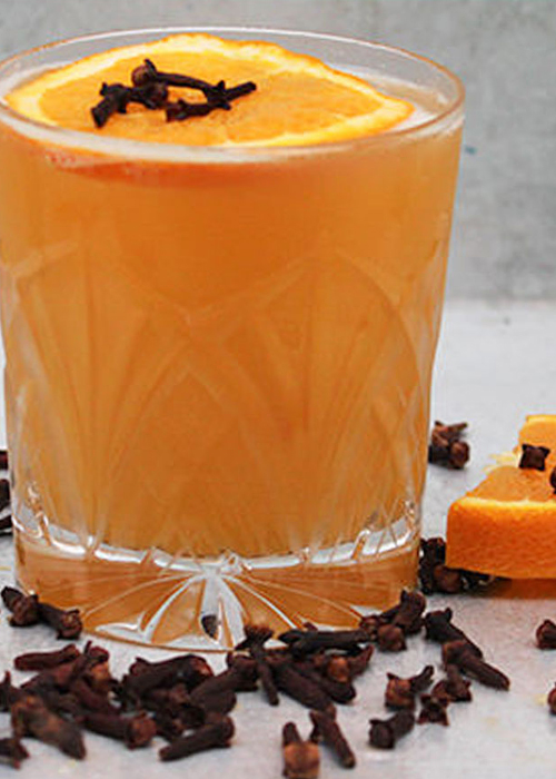 The Clove Screwdriver is one of the best vodka cocktails for fall