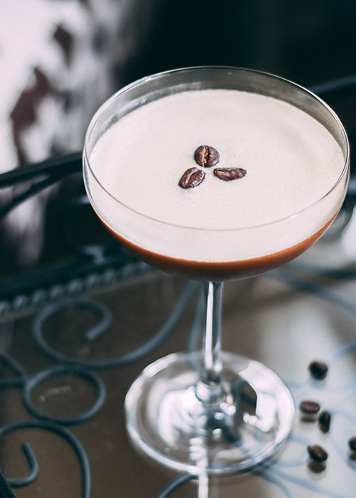 The Espresso Martini is one of the best fall cocktails