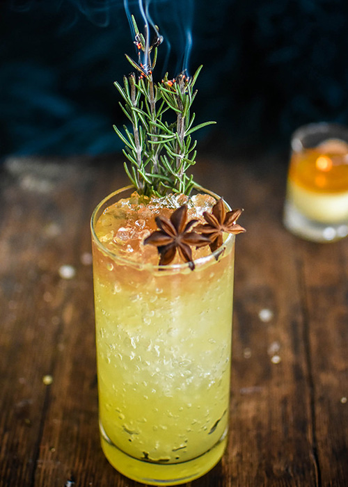 The Spiced Mai Tai is a great spiced cocktail for fall.
