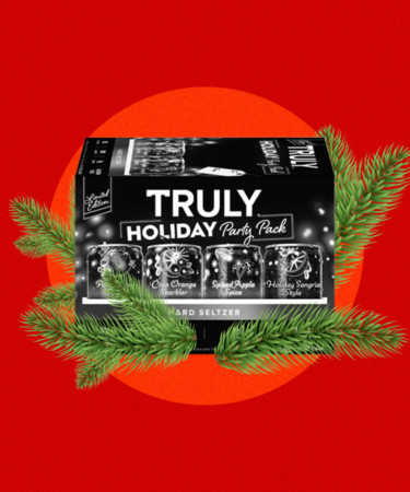 Truly's New Holiday Pack Includes a Sangria Style Seltzer