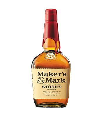 Maker's Mark is a great bourbon for beginners.