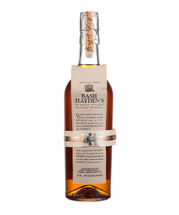 Basil Hayden's is one of the most underrated bourbons of 2021.