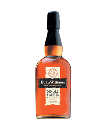 Evan Williams Single Barrell is one of the most underrated bourbons of 2021.