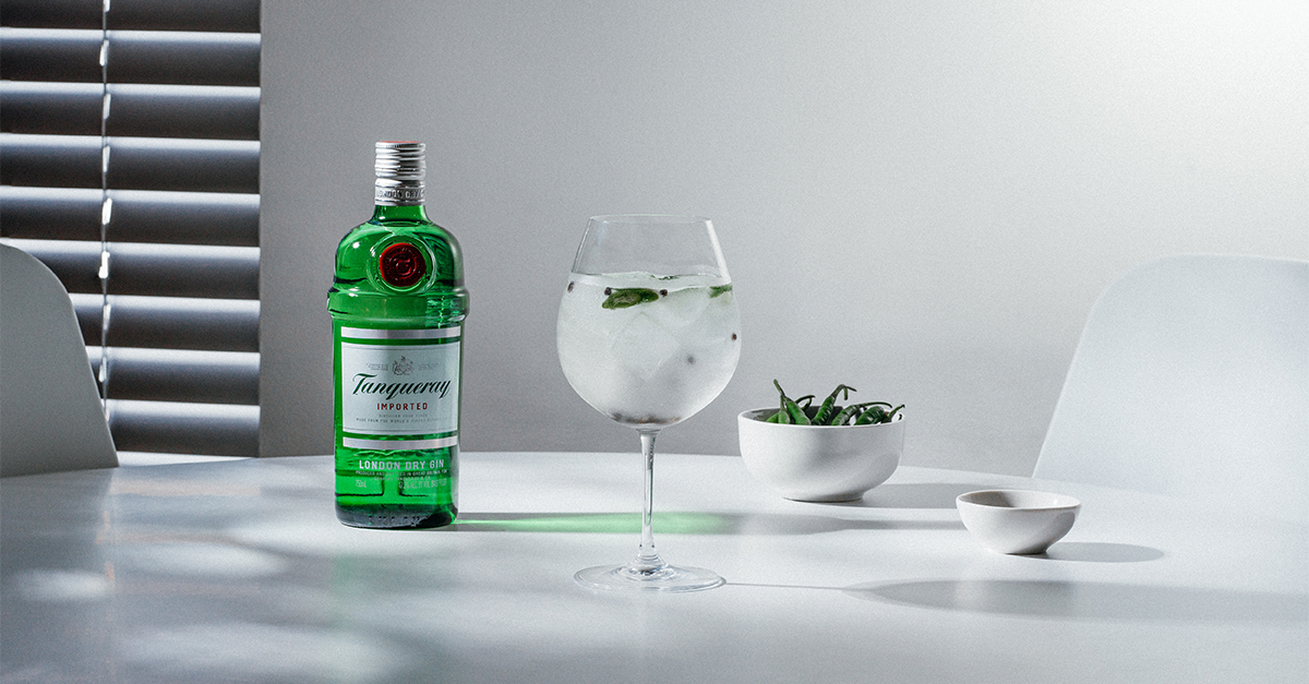 Mix up this classic serve with your favorite tonic water and a pour of Tanqueray, then garnish with your preferred chili and peppercorns.