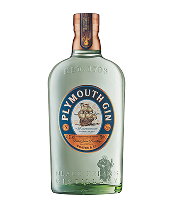 Plymouth gin has quickly gained ground as a go-to option